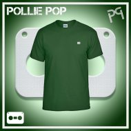 JLaDonne Clothing Company - Dark Green Work T White Tape (#ScrewedNChopped)