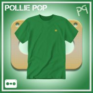 JLaDonne Clothing Company - Green Work T Gold Tape (#ScrewedNChopped)