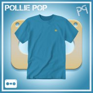 JLaDonne Clothing Company - Teal Work T Gold Tape (#ScrewedNChopped)