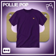JLaDonne Clothing Company - Purple Work T Gold Tape (#ScrewedNChopped)