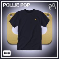 JLaDonne Clothing Company - Navy Work T Gold Tape (#ScrewedNChopped)