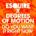 Esquire & Degrees Of Motion - Do You Want It Right It Now (Club Mix)