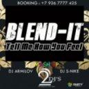 Blend-It ft. Nelly & V.Reznikov - You Feel Dilemma  ( Dj Armilov & Dj S-Nike Mash Up )