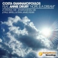 Costa Giannakopoulos Ft. Annie Drury - Hope Is A Dream  (Paul Sirrell & Ryan James Remix)