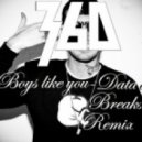 360 - Boys Like You  (Datadex Breaks Remix)
