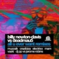 Billy Newton-Davis vs. Deadmau5 - All You Ever Want  (Crazibiza Vocal Mix)