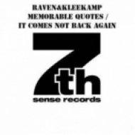 Raven & Kleekamp - It Comes Not Back Again  (Original Mix)