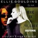Ellie Goulding & Aaliyah - You, My Everything  (AA \'One In A Million\' Edit)