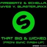 Firebeatz & Schella, Yves V, Blasterjaxx - That Big & Wicked  (Proni Sync Mashup)