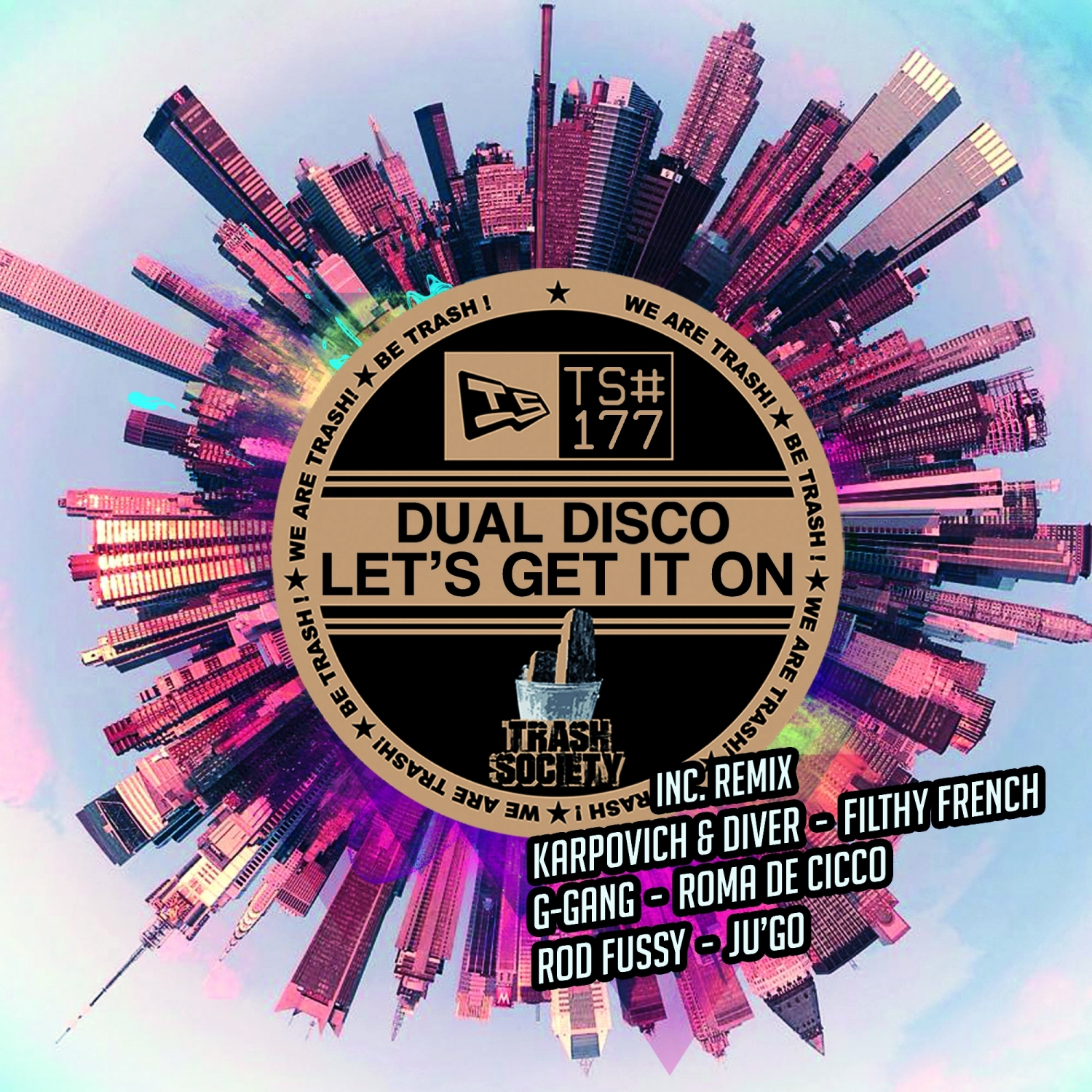 Dual Disco  - let\'s Get It On (Filthy French Remix)