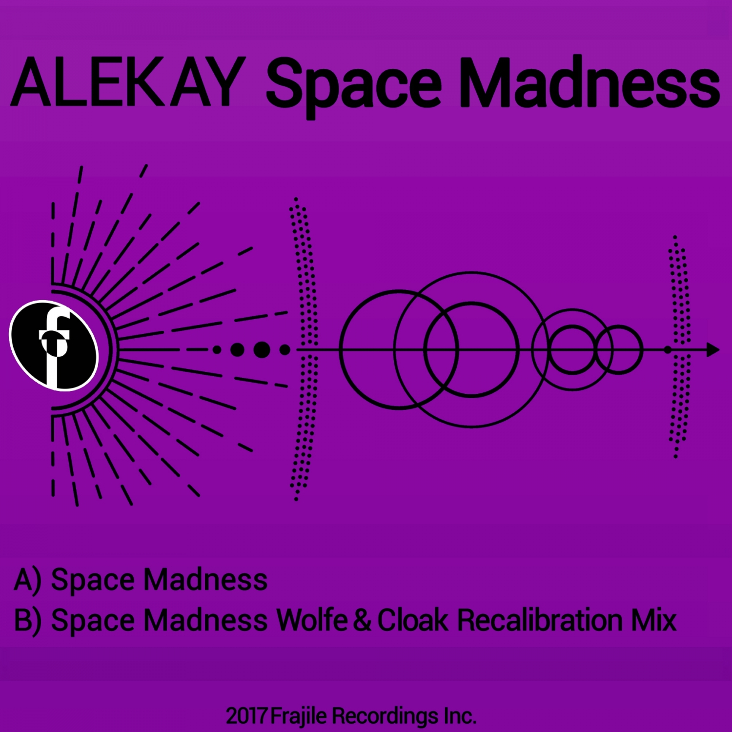 Alekay  - Space Madness (James Wolfe & Cloak Recalibration Mix) (James Wolfe & Cloak Recalibration Mix)
