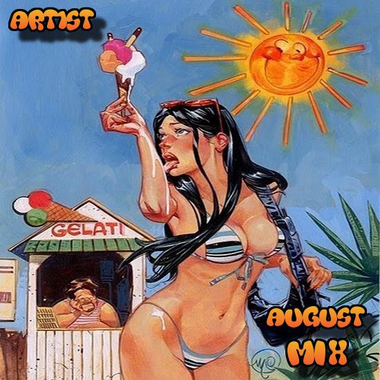 Art1st  - August Mix 2017 (Original Mix)