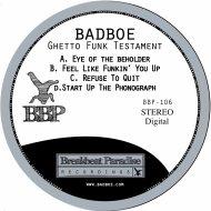 BadboE - Start Up The Phonograph (Original Mix)