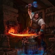 GRUZMUS - Forging character (original)