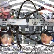Kach - Guest Mix For Debri Fm 25.01.2020 (Atmospheric, Eclectic, Intelligent, Liquid Funk DnB Music Universe Axiom Label)