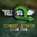 Technoboy & Activator - Steam Train  (Extended Version)