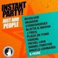 Alain Lalonde - Rise  (Instant Party! Mix)
