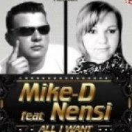 Mike-D Feat. Nensi - All I Want 2013  (ClubPulsers Remix)