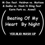 M-3ox feat. Heidrun vs.Matisse & Sadk vs.Hook N Sling feat  Karin Park vs.Axwell - Beating Of My Heart By  Night (Verjilio mash up)