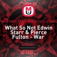 Edwin Starr & Pierce Fulton - War Jaguar (Dj Moscito MashUp)