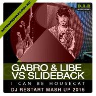 Gabro & Libe vs Slideback - I Can Be Housecat (Dj Restart Mash Up) [Restart Promo] ()