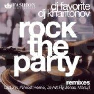 DJ Favorite & DJ Kharitonov - Rock The Party (JONAS Radio Edit)