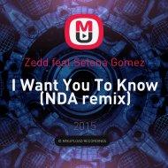 Zedd feat. Selena Gomez - I Want You To Know (NDA remix)