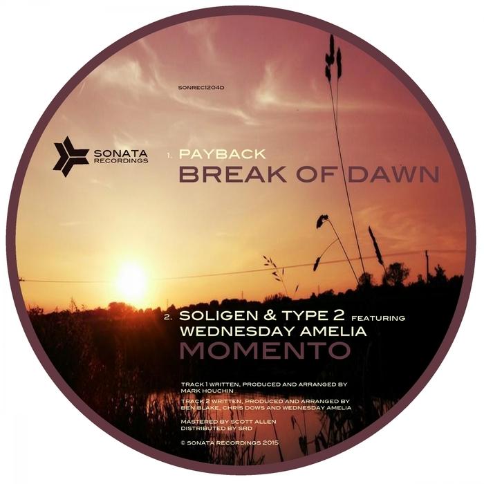 Soligen & Type 2 feat. Wednesday Amelia - Momento (Original mix)