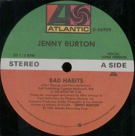 Jenny Burton - Bad Habits (Original mix)