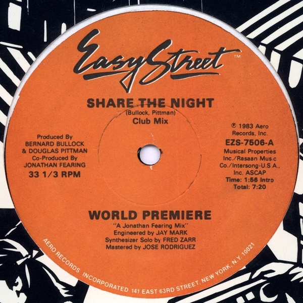 World Premiere - Share the Night (Original mix)