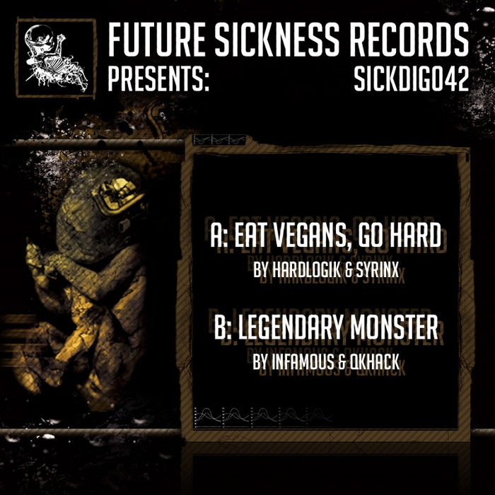 Hardlogik & Syrinx - Eat Vegans, Go Hard (Original mix)