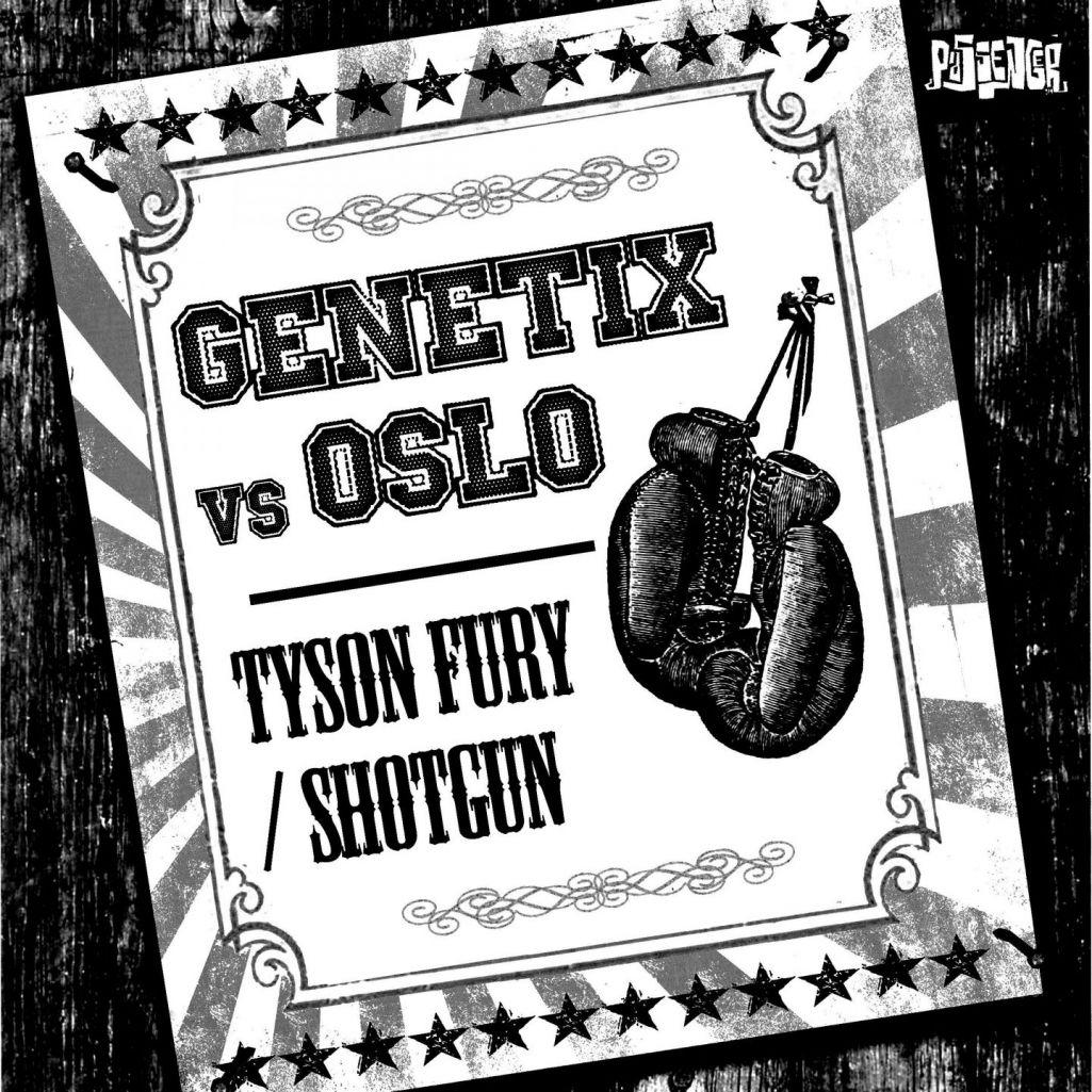 Genetix & Oslo - Shotgun (Original mix)