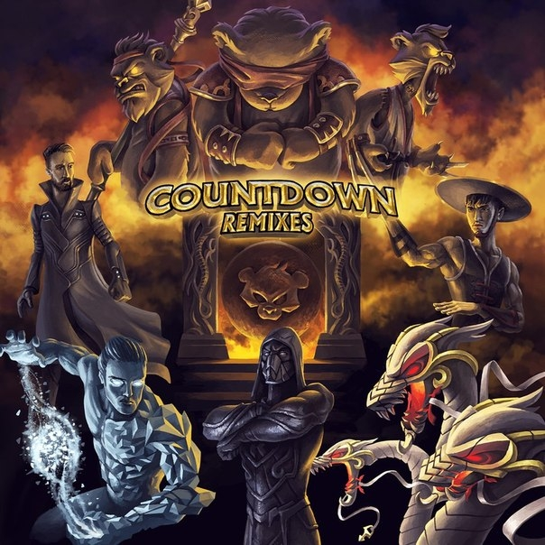 Teddy Killerz  - Countdown (CVPELLV remix)