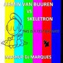 Armin Van Buuren vs Skeletron - This Is A Test Basanti (Mashup DJ Marques)