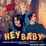 Dimitri Vegas Like Mike vs. Diplo x Benedetto - Hey Baby (White Edit) ()