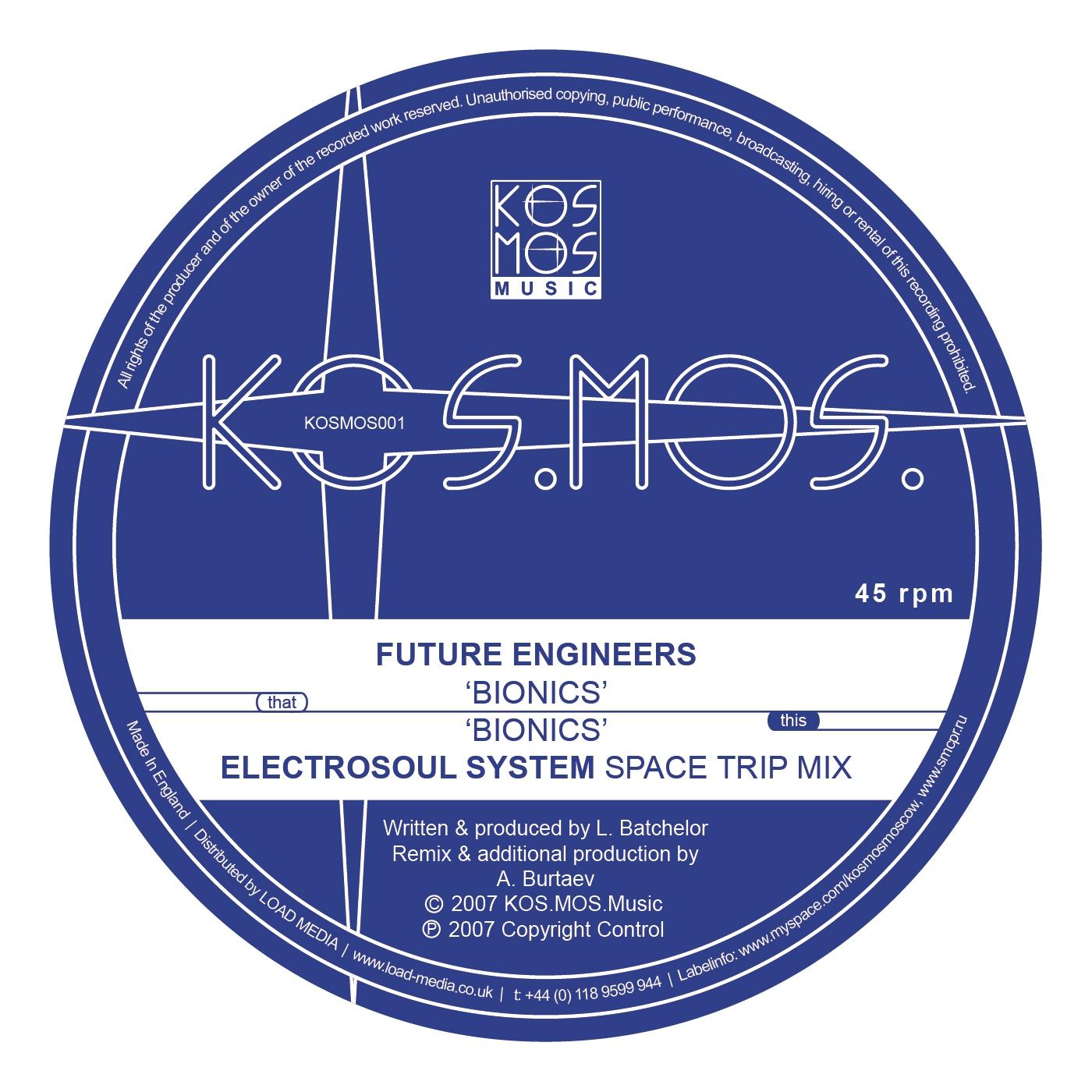 Future Engineers - Bionics (Original Mix)
