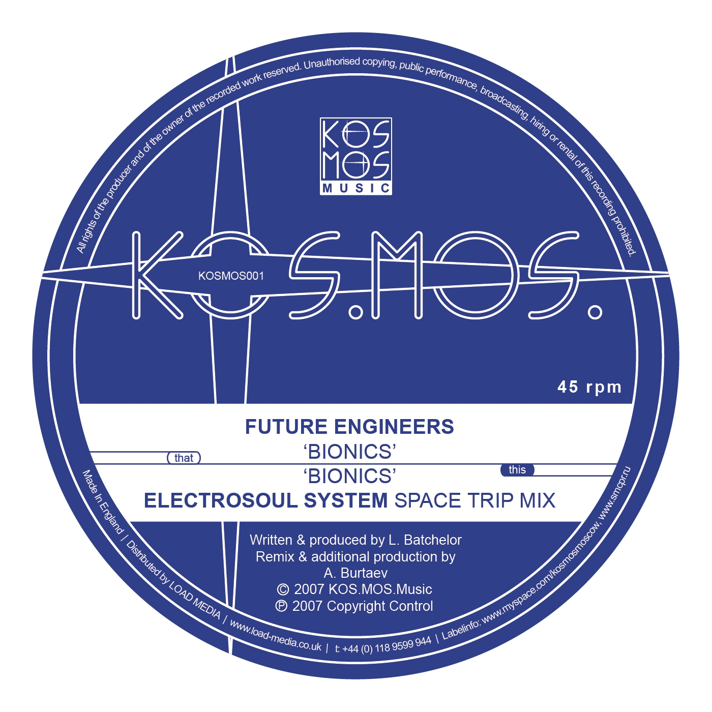 Future Engineers - Bionics (Electrosoul System Space Trip Mix)