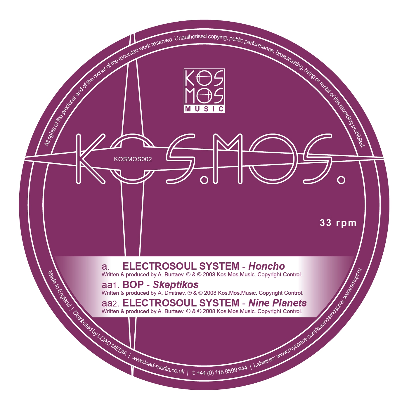Electrosoul System - Honcho (Original Mix)