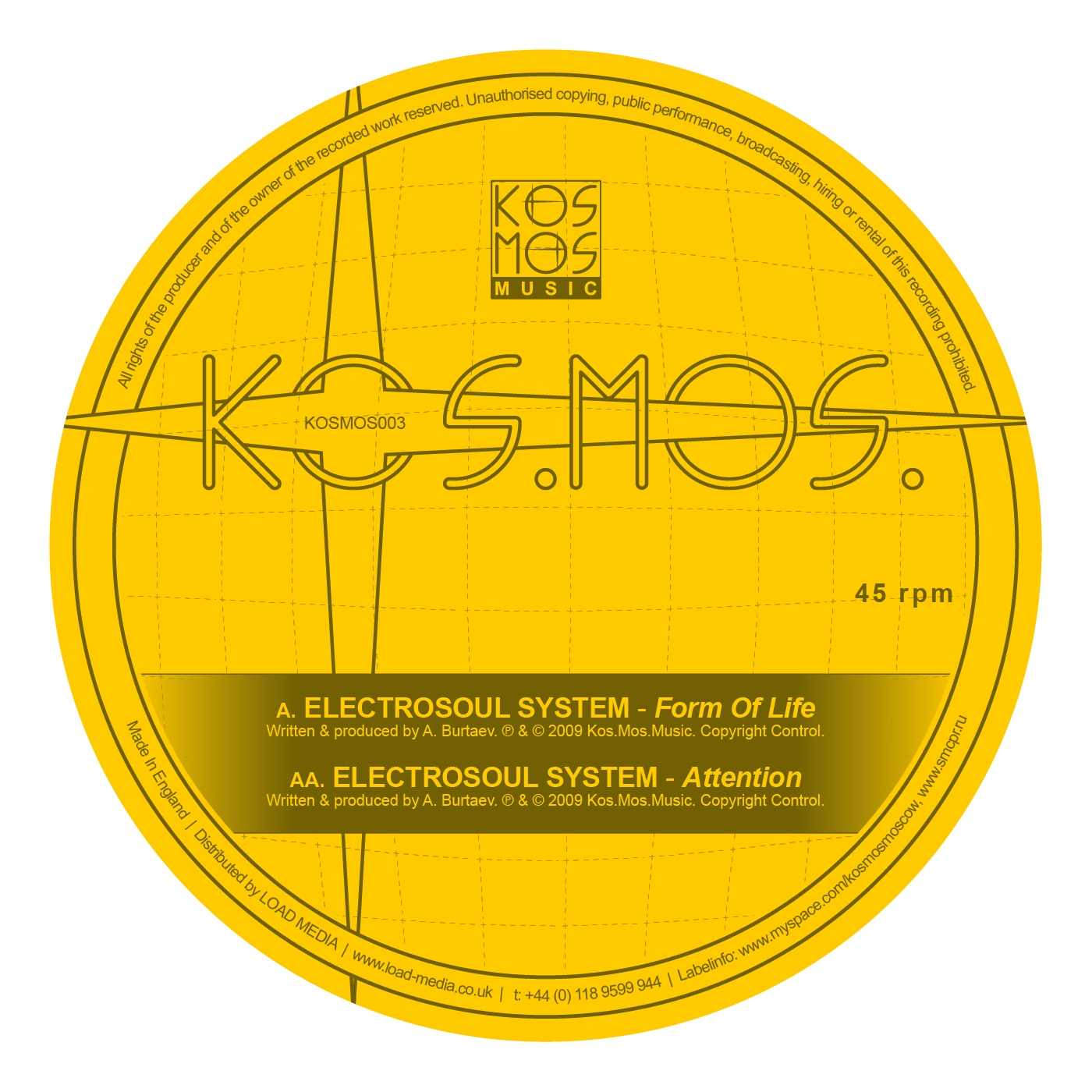 Electrosoul System - Attention (Original Mix)