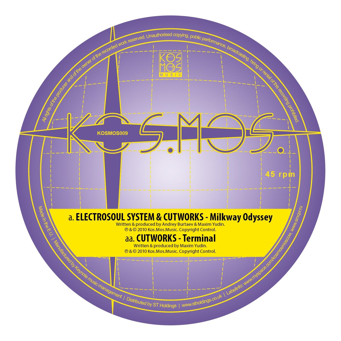 Electrosoul System & Cutworks - Milkway Odyssey (Original Mix)