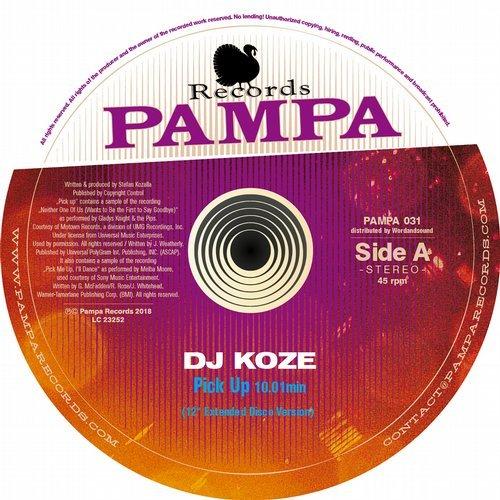 """DJ Koze - Pick Up (12"""" Extended Disco Version) ()"""