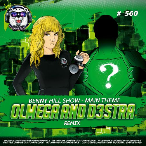 Benny Hill Show  -  Main Theme  (Olmega and d3stra Remix)