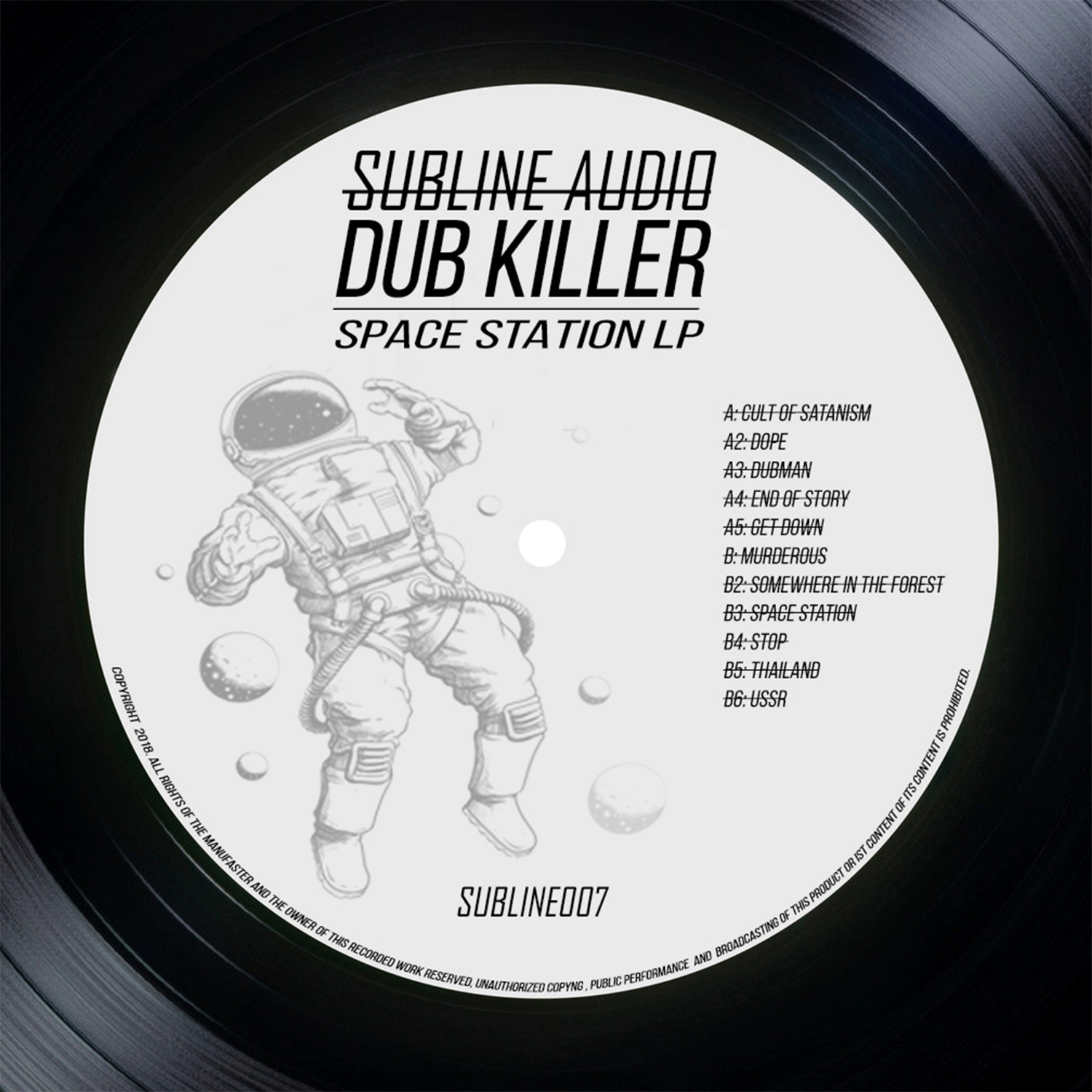 Dub Killer - Cult of Satanism (Original Mix)