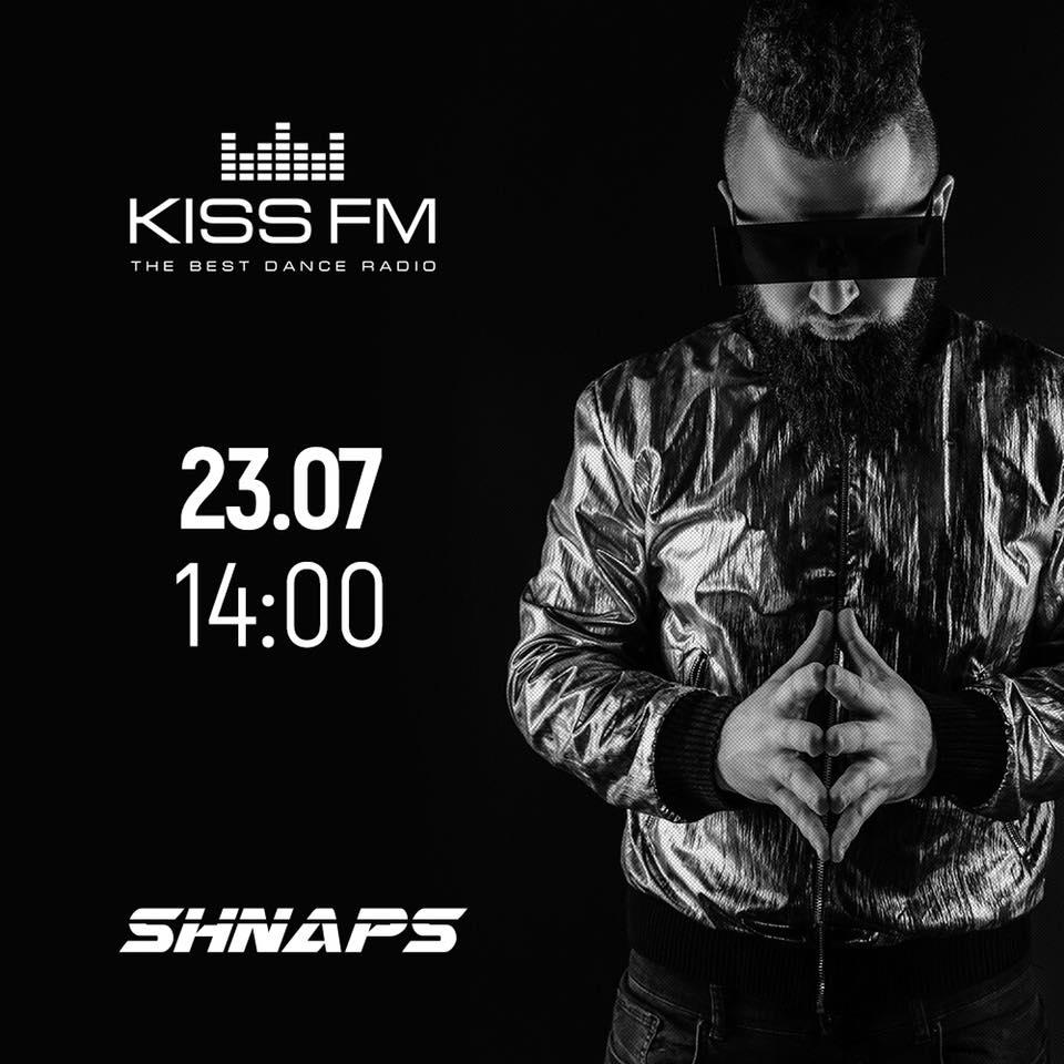 Shnaps - Live @ KissFM Ukraine 23.07.2018 ()