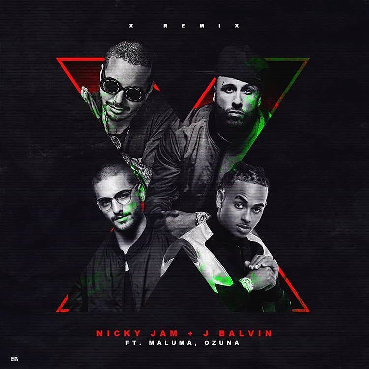 Nicky Jam & J Balvin - X (Remix) (feat. Ozuna y Maluma)