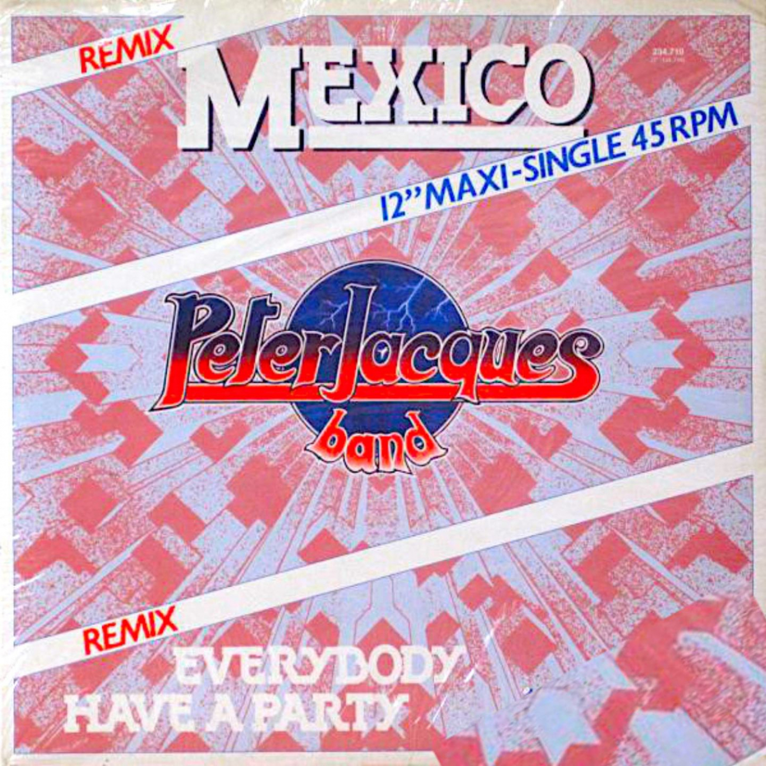 Peter Jacques Band  - Mexico (Peter Slaghuis Remix)