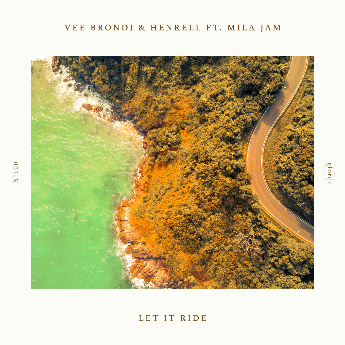 Vee Brondi, Henrell, feat. Mila Jam - Let It Ride (Extended Mix)