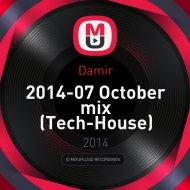 Damir - 2014-07 October mix (Tech-House) (promo mix)