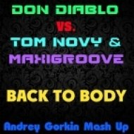 Don Diablo vs. Tom Novy & MaxiGroove - Back To Body (Andrey Gorkin Mash Up)
