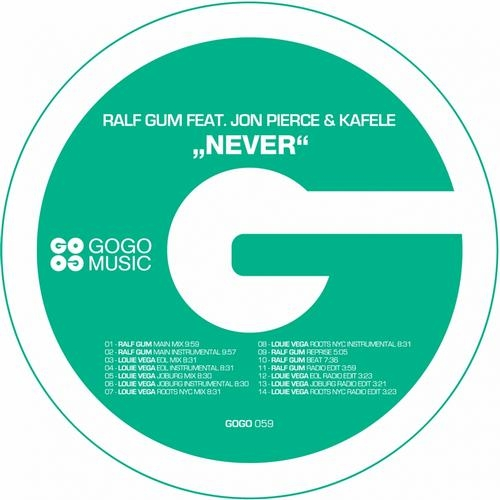 Ralf GUM, Jon Pierce, Kafele - Never (Louie Vega Roots NYC mix)